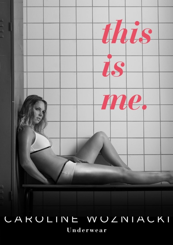 Caroline Wozniacki launches underwear collection