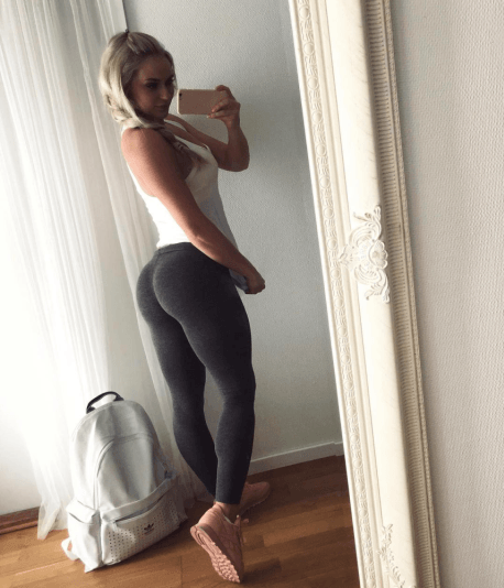 Anna Nystrom is the Yoga Pants Queen | Daily Girls @ Female Update