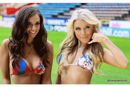 Crystal Palace Cheerleaders in Bikinis | Daily Girls @ Female Update