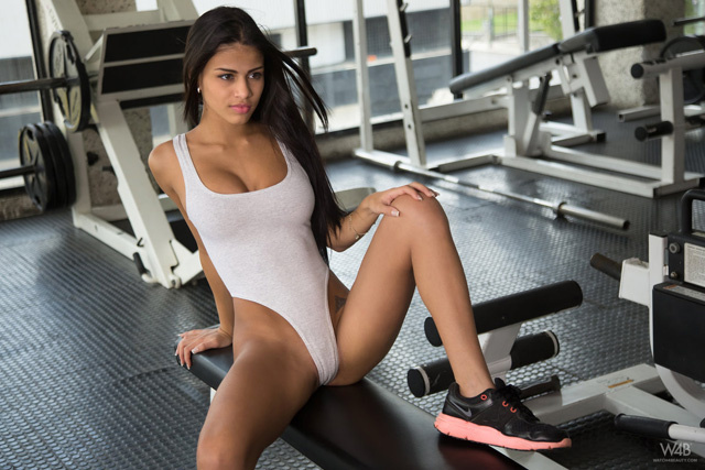 Denisse Gomez At The Gym | Daily Girls @ Female Update