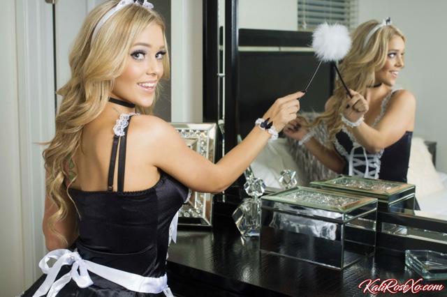 French Maid Kali Rose   Daily Girls @ Female Update