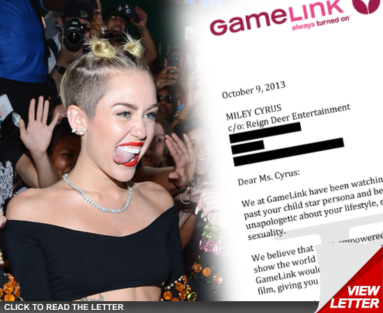 Miley Cyrus — PORN OFFER … To Direct | Daily Girls @ Female Update