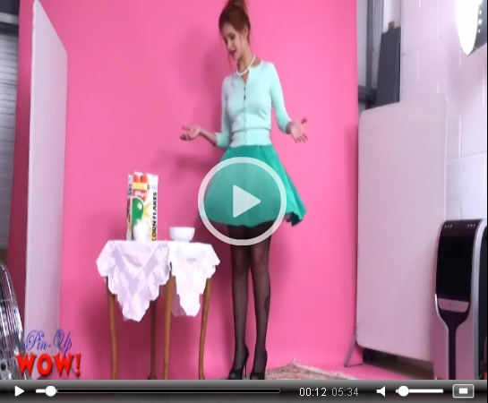 Pinupwow Hoover Oops Upskirt | Daily Girls @ Female Update